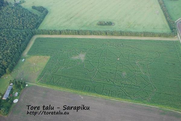 Sarapiku saimniecības kukurūzas labirints