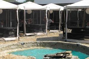 Ararati barbecue courtyard