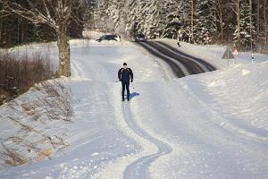 Лыжная трасса Пюхаярве-Кяэрику