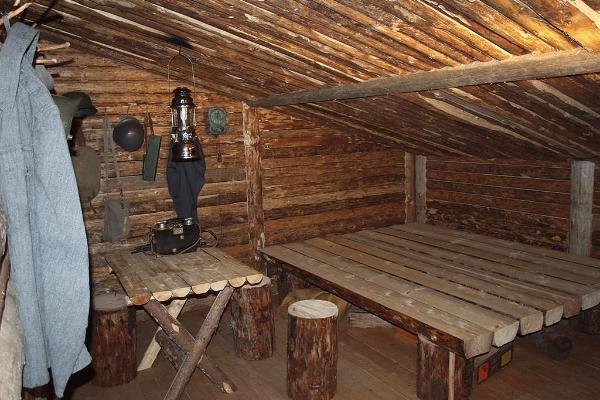 Комната-музей финских солдат