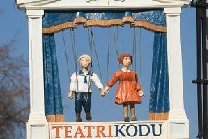 Heim des Theaters (Teatri Kodu) des Tartuer Spielzeugmuseums