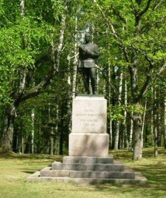 Vabadussõja mälestussammas Tõrvas